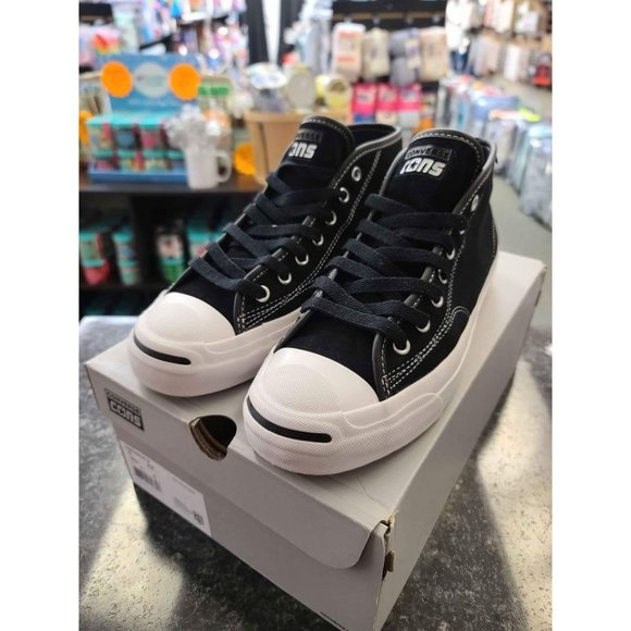Converse Cons Mens Skate Jack Purcell Sneakers Sz 8